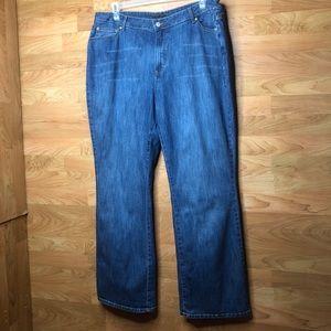 St. John's Bay Bootcut Jeans Size 22W